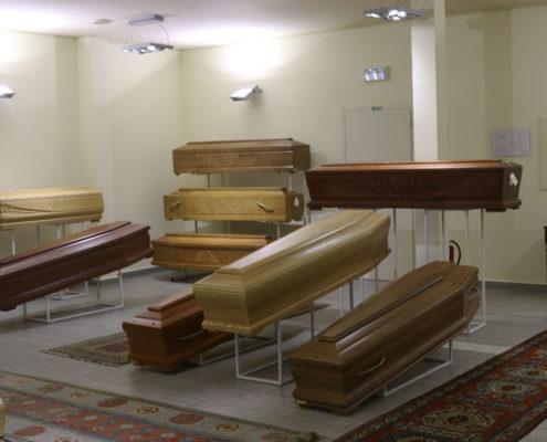 Sala Espositiva - Onoranze Funebri Gambaro - Castano Primo (MI)